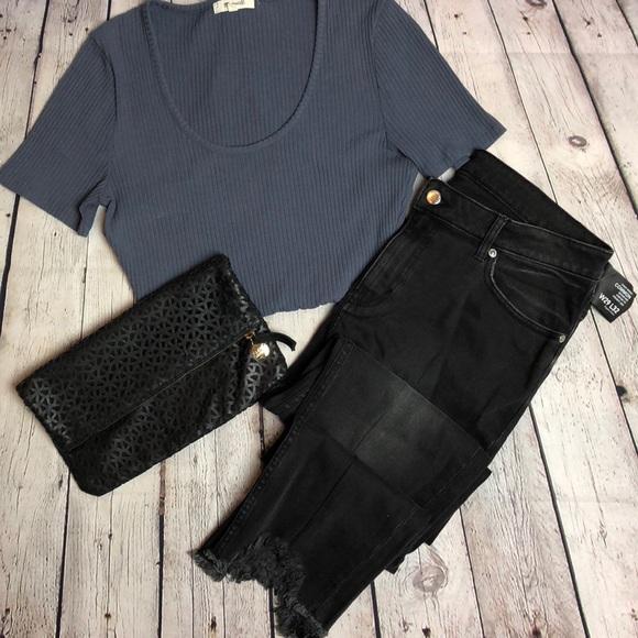 Cheap Monday Denim - NWT Cheap Monday Black Common Jeans